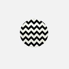 Cute Zig zag pattern Mini Button