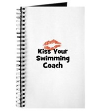 Kiss Your Swimming Coach Journal
