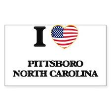 I love Pittsboro North Carolina Decal