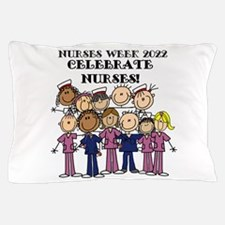 Stick Figure Nurse Week 2016 Pillow Case