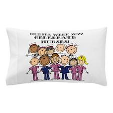Stick Figure Nurses Week 2015 Pillow Case