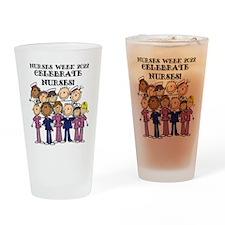 Stick Figure Nurses Week 2015 Drinking Glass