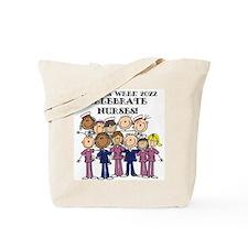 Stick Figure Nurse Week 2016 Tote Bag