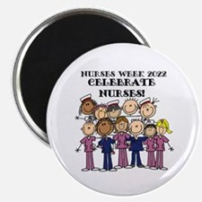 Stick Figure Nurse Week 2016 Magnet