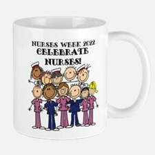 Stick Figure Nurse Week 2016 Mug