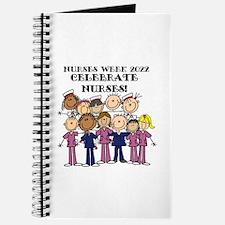 Stick Figure Nurse Week 2016 Journal
