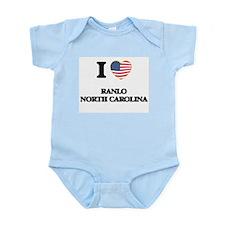 I love Ranlo North Carolina Body Suit