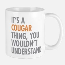 Cougar Thing Mugs