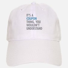 Coupon Thing Baseball Baseball Cap