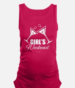 Girls Weekend Party Shirts Maternity Tank Top