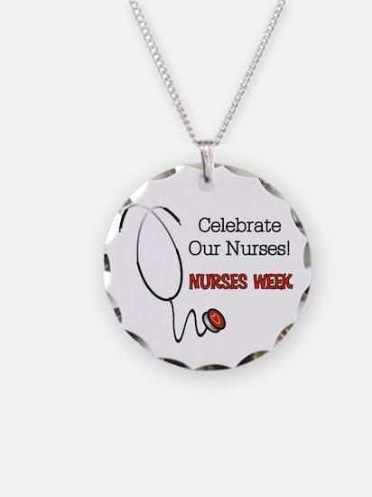 Stethoscope Nurses Week Necklace