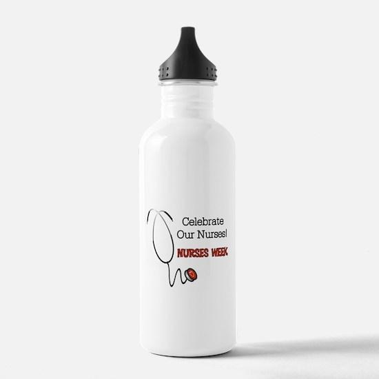 Stethoscope Nurses Wee Water Bottle