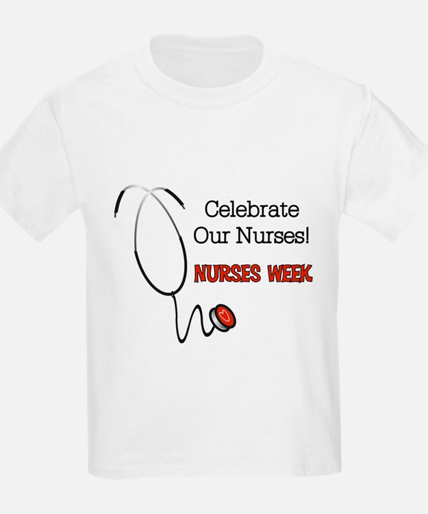 Stethoscope Nurses Week T-Shirt