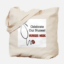 Stethoscope Nurses Week Tote Bag