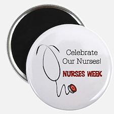 Stethoscope Nurses Week Magnet Magnets