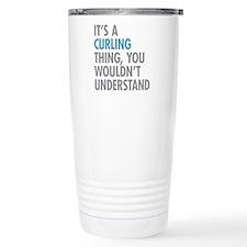 Curling Thing Travel Mug