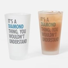 Unique Gem Drinking Glass