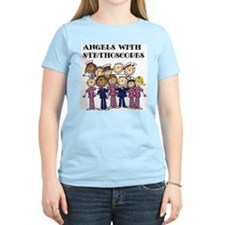 Angels With Stethoscopes T-Shirt