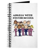 Angels nurse Journals & Spiral Notebooks