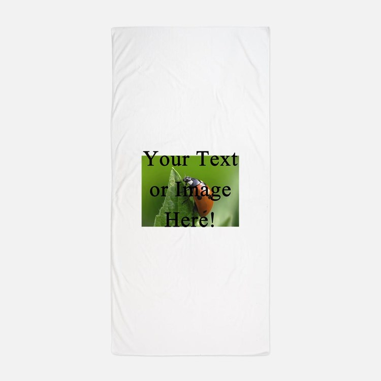 Make your own beach towels pool towels kids beach towel for Personalized last name university shirts