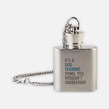 Dog Training Thing Flask Necklace
