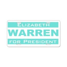 Elizabeth Warren for President Aluminum License Pl