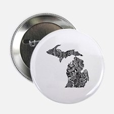 "Cute Lake michigan 2.25"" Button"