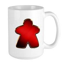 Metallic Meeple - Red Mugs