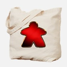 Metallic Meeple - Red Tote Bag
