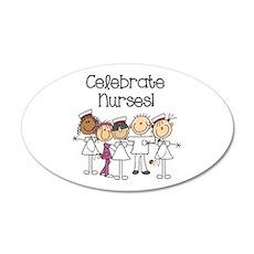 Celebrate Nurses Wall Decal
