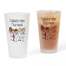 Celebrate Nurses Drinking Glass