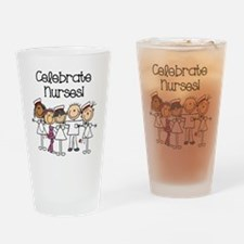 Celebrate Nurses Drinking Glass