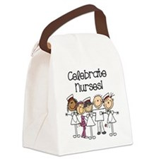 Celebrate Nurses Canvas Lunch Bag