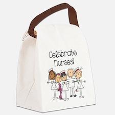 Celebrate Nurses Canvas Lunch Bag