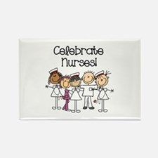 Celebrate Nurses Rectangle Magnet