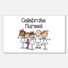 Celebrate Nurses Decal