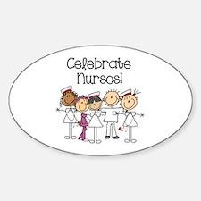 Celebrate Nurses Decal