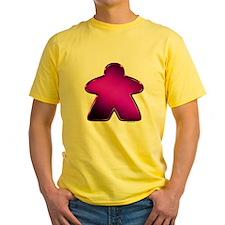 Metallic Meeple - Purple T-Shirt