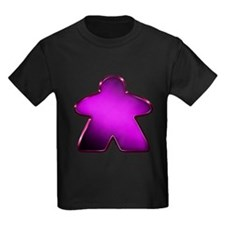 Metallic Meeple - Purple T-Shirt