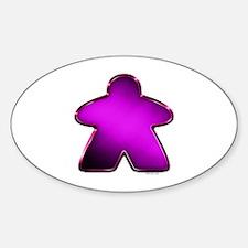 Metallic Meeple - Purple Decal