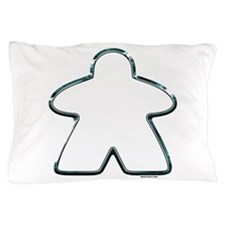 Metallic Meeple Pillow Case