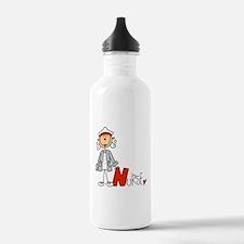 Female Stick Figure Nu Water Bottle