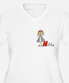 Female Stick Figu T-Shirt