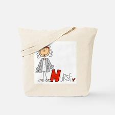 Female Stick Figure Nurse Tote Bag