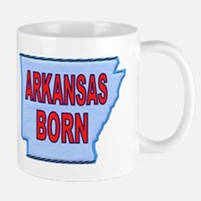 ARKANSAS BORN Mugs