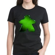 Metallic Meeple - Green T-Shirt