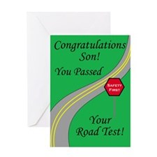 Son Passed Test
