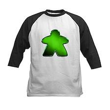 Metallic Meeple - Green Baseball Jersey