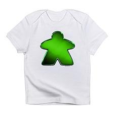 Metallic Meeple - Green Infant T-Shirt