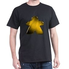 Metallic Meeple - Gold T-Shirt